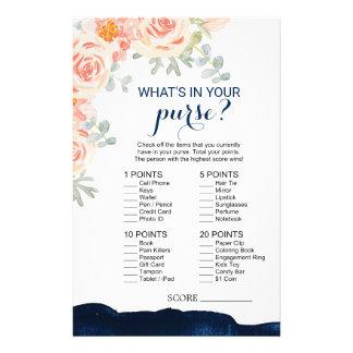 De bloemen & Waterverf van de Marine wat in Uw Flyer
