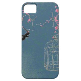 De bloesem en birdcage van de kers barely there iPhone 5 hoesje