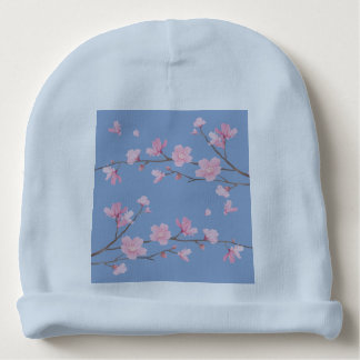 De Bloesem van de kers - het Blauw van de Baby Mutsje