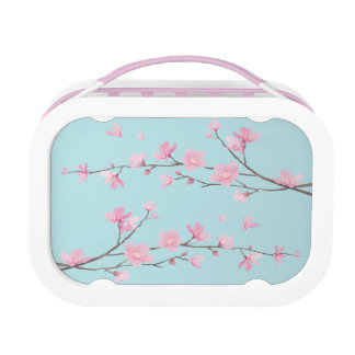 De Bloesem van de kers - het Blauw van de Hemel Lunchbox