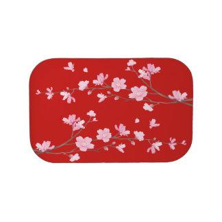 De Bloesem van de kers - Rood Lunchbox