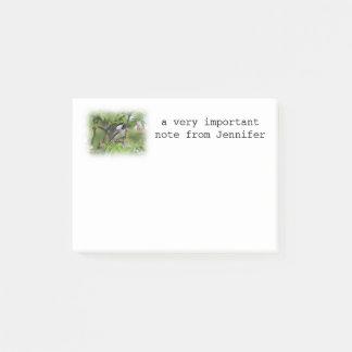 De bloesems van Chickadee en van de lente Post-it® Notes