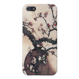 De Bloesems van de pruim en de Maan, Hokusai iPhone 5 Cases