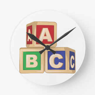 De Blokken van ABC Ronde Klok