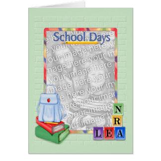 De Blokken van de Dagen van de school - de Kaart