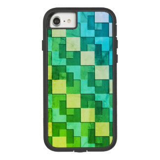 De Blokken van de kleur Case-Mate Tough Extreme iPhone 8/7 Hoesje
