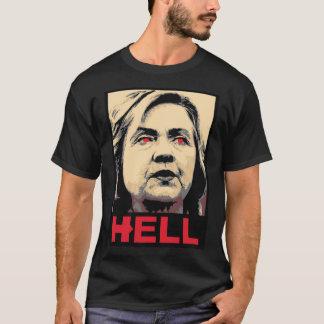 De bochtige Hel van Hillary Clinton - anti-Hillary T Shirt