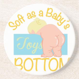 De Bodem van Babys Zandsteen Onderzetter