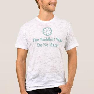 De boeddhistische T-shirt van de Manier