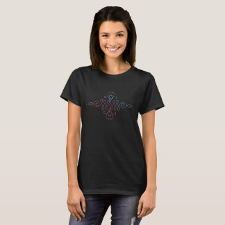 De boeddhistische Zwarte T-shirt van het Symbool