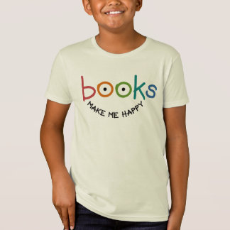 De boeken maken me Gelukkig T Shirt