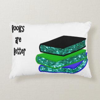 De boeken zijn Beter Decoratief Kussen