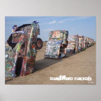 De Boerderij van Cadillac Poster
