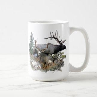 De bok van de de stierentrofee van het monster koffiemok