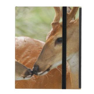 De Bok van Whitetail en het Plakken Fawn iPad Hoesje