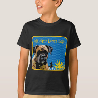 De bokser van Michigan T Shirt