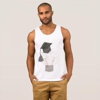 De Bol van het afstudeerder Geen Bovenkant Vest Hemd