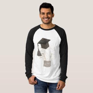 De Bol van het afstudeerder Geen Raglan T Shirt