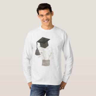 De Bol van het afstudeerder Geen Verbindingsdraad T Shirt