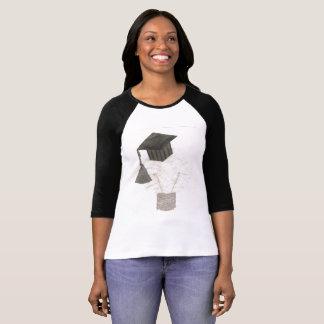 De Bol van het afstudeerder Raglan van Geen T Shirt