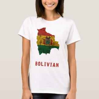 De Boliviaanse T-shirt van de Vlag