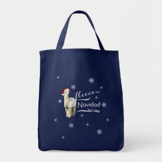 De Bolsas van Kerstmis van de alpaca Draagtas