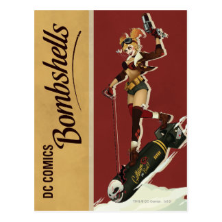 De Bom van Quinn van Harley Briefkaart