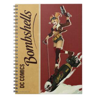 De Bom van Quinn van Harley Ringband Notitie Boek