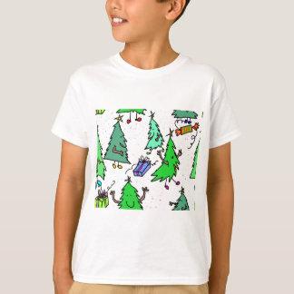De bomen die van Kerstmis klaar voor Kerstmis T Shirt