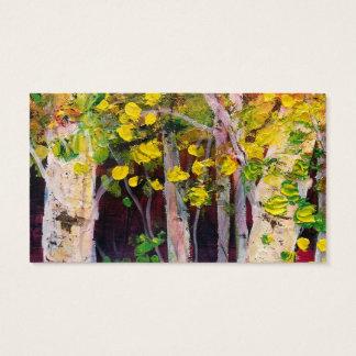 De Bomen van de berk Visitekaartjes