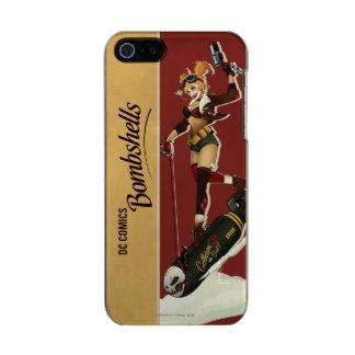 De Bommen Pinup van Quinn van Harley Incipio Feather® Shine iPhone 5 Hoesje