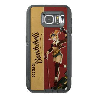 De Bommen Pinup van Quinn van Harley OtterBox Samsung Galaxy S6 Hoesje