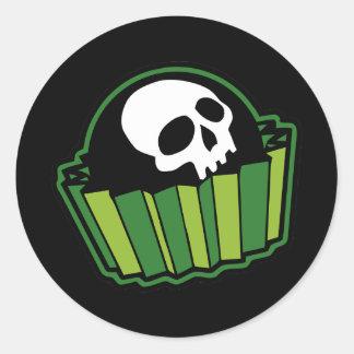 De Bonbon van het vergift Ronde Sticker
