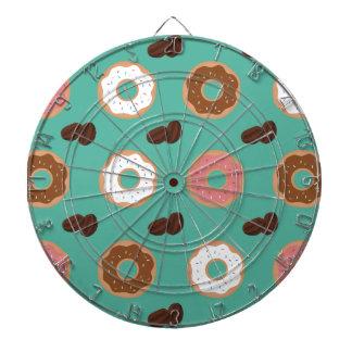De Bonen van de doughnut en van de Koffie Dartborden