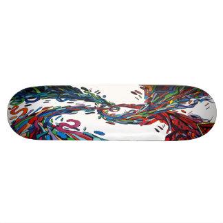 De Bonen van de Gelei van Hyperblended - Sk8 Dek 20,6 Cm Skateboard Deck