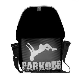 De boodschapperszak van de Atleet van Parkour Courier Bags