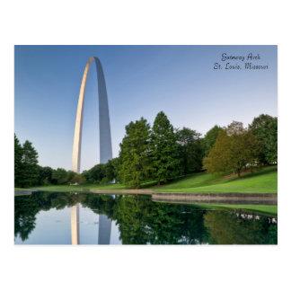De Boog van de gateway - St.Louis Missouri Briefkaart