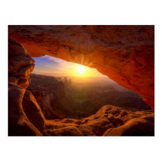 De Boog van Mesa, Nationaal Park Canyonlands Briefkaart