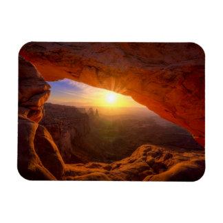 De Boog van Mesa, Nationaal Park Canyonlands Rechthoekige Magneet