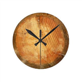 De BOOM BELT | natuurlijk houten logboek Ronde Klok Medium
