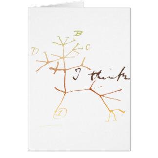 De boom van Darwin van het leven: Ik denk Kaart