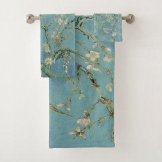 De boom van de amandel in bloesem Vincent van Gogh Bad Handdoek