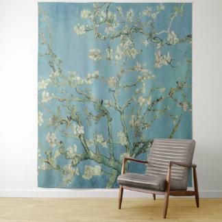 De boom van de Amandel van Vincent van Gogh in Wandkleed