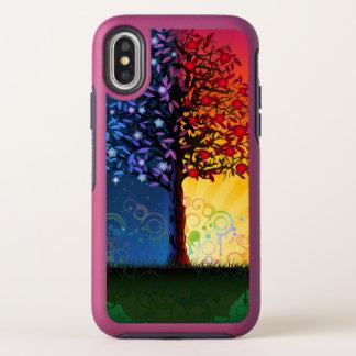 De Boom van de dag en van de Nacht OtterBox Symmetry iPhone X Hoesje