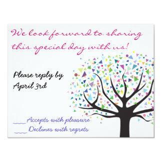 De boom van de Uitnodiging van het Huwelijk van