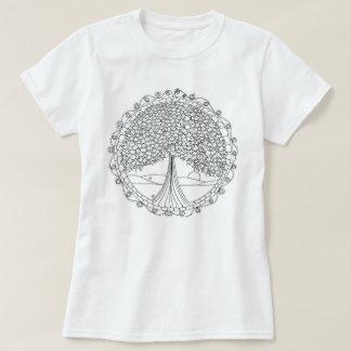 De boom van de Vrouwen van het Leven kleurt me T Shirt
