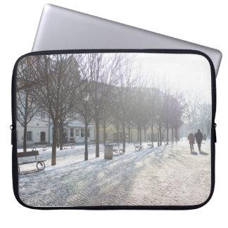 De Boom van de winter in Praag (Tsjechische Computer Sleeves