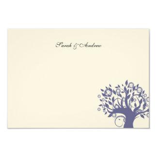 De boom van het Huwelijk van het Leven dankt u Kaart
