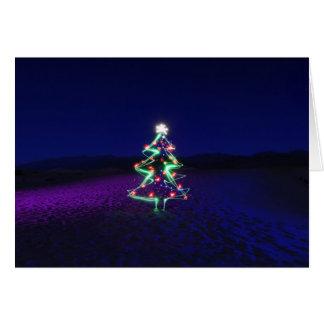 De Boom van Kerstmis van de Vallei van de dood Briefkaarten 0