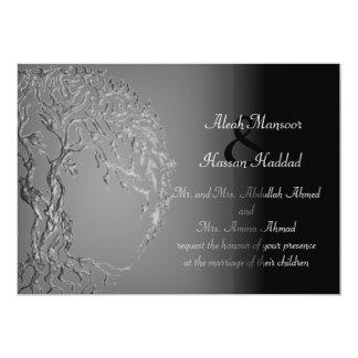 De Boom van Mehndi van het Leven (Henna) (Zilver) Kaart